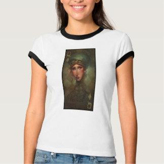 Queen of Diamonds Ringer T-Shirt