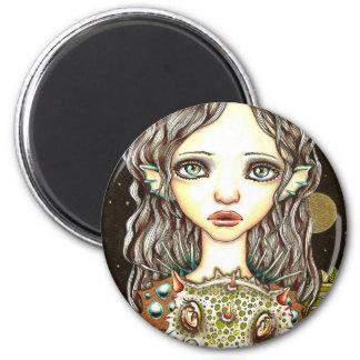 Queen of Dragons Fridge Magnet