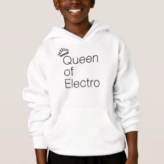 Queen of Electro Black Hoodie