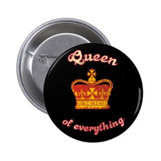 Queen OF everything 2 Inch Round Button