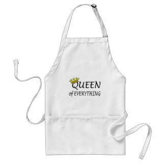 Queen Of Everything Adult Apron