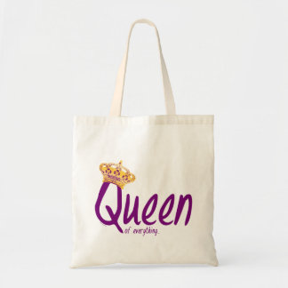 Queen of Everything [bag] Budget Tote Bag