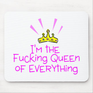 Queen of Everything Crown Mouse Pad