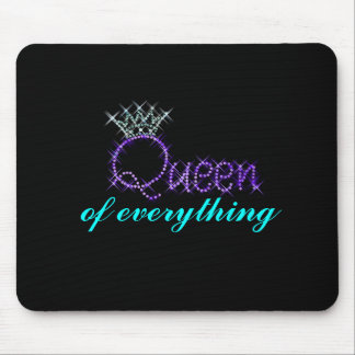 Queen Of Everything Crown Mousepad
