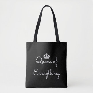 Queen of Everything Crown Tote Bag