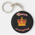 Queen OF everything Keychain