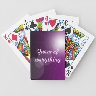 Queen of Everything Playing Cards