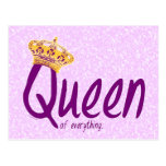 Queen of Everything [postcard] Postcard