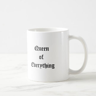 Queen of Everything Royal Victorian Crown Mug