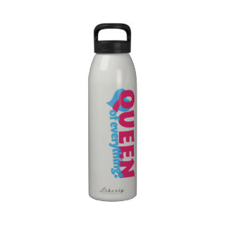 Queen of Everything Reusable Water Bottle