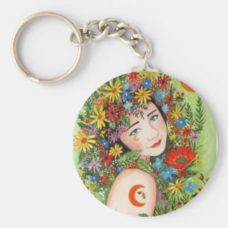 Queen of Fairies Keychain