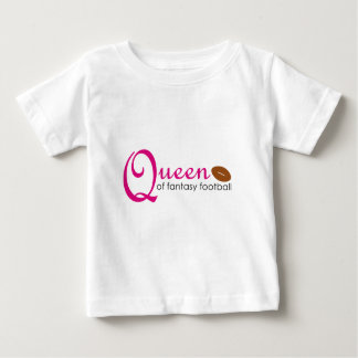 Queen Of Fantasy Football Baby T-Shirt