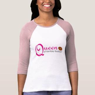 Queen Of Fantasy Football T-Shirt