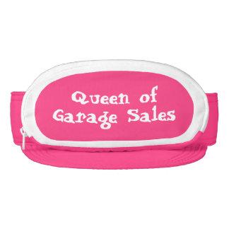 Queen of garage sales visor