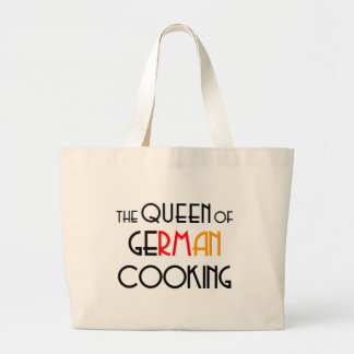 Queen of German cooking Large Tote Bag