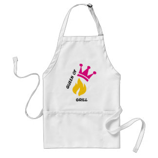Queen of Grill Adult Apron