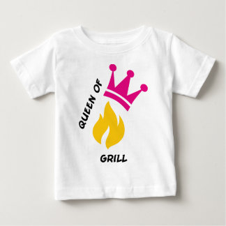 Queen of Grill Baby T-Shirt