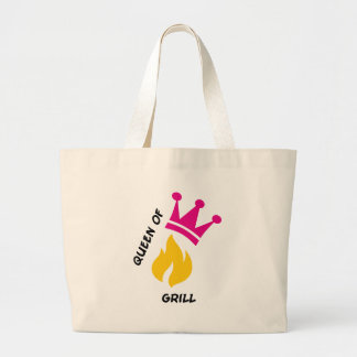 Queen of Grill Canvas Bag