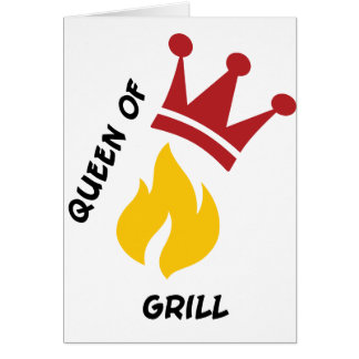 Queen of Grill Cards