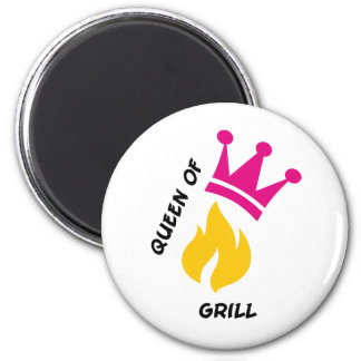 Queen of Grill Magnets