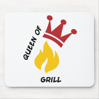 Queen of Grill Mouse Pad
