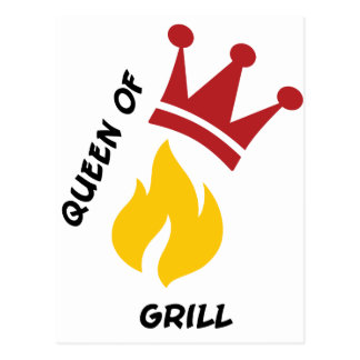 Queen of Grill Post Cards