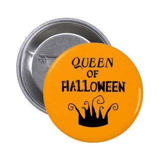 Queen of Halloween Button