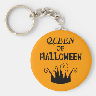 Queen of Halloween Keychain