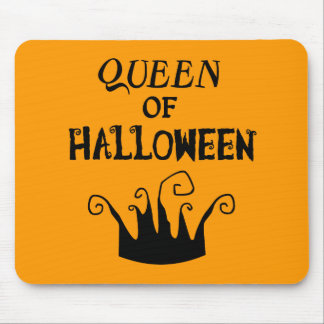 Queen of Halloween Mouse Pad