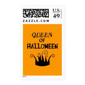 Queen of Halloween Postage Stamp