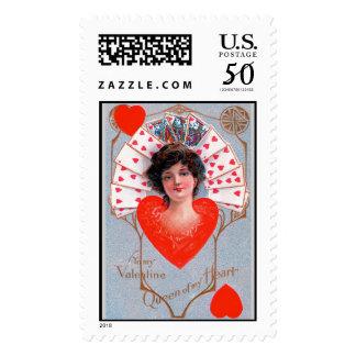 QUEEN OF HEART ,Valentine's Day Postage