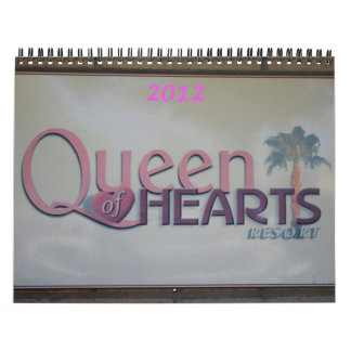 Queen of Hearts 2012 Calendar