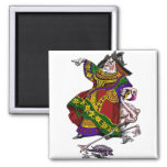 Queen of Hearts 2 Inch Square Magnet