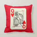 Queen of Hearts Accent Pillow