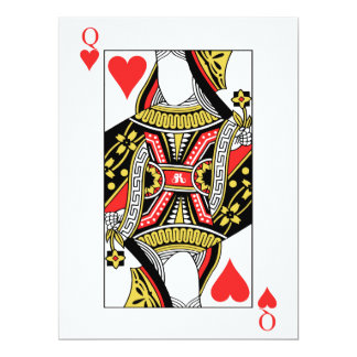 Queen of Hearts - Add Your Image Card