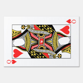 Queen of Hearts - Add Your Image Yard Sign