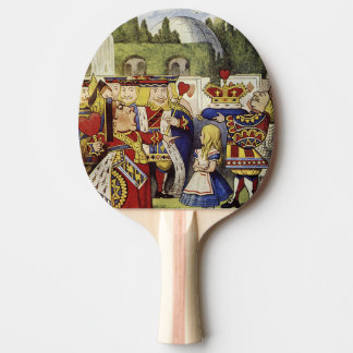 Queen of Hearts Alice in Wonderland Ping Pong Ping-Pong Paddle