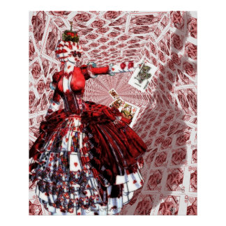 Queen of Hearts (Alice-in-Wonderland) Poster