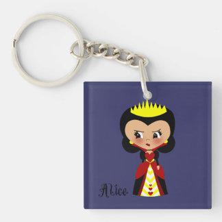 Queen of Hearts - Alice's Adventures in Wonderland Keychain