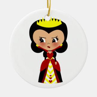 Queen of Hearts - Alice's Adventures in Wonderland Christmas Ornament