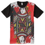 Queen Of Hearts All-Over-Print T-Shirt