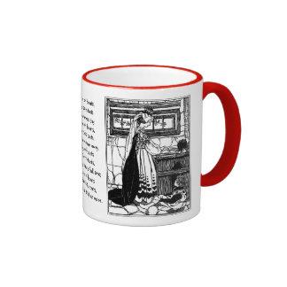 Queen of Hearts Baking Tarts Ringer Coffee Mug