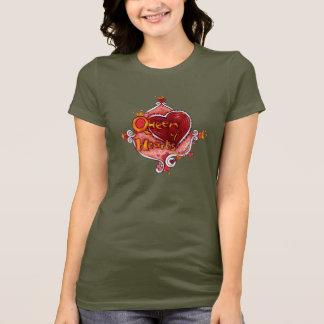 Queen of Hearts Basic T-Shirt