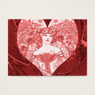 Queen of Hearts Business Card