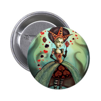 Queen of Hearts Buttons