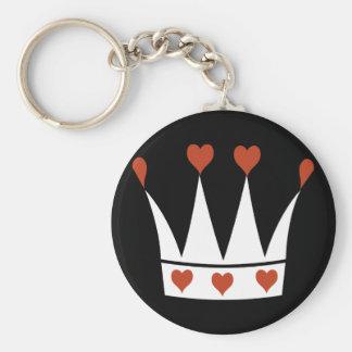 Queen of Hearts Crown Keychain