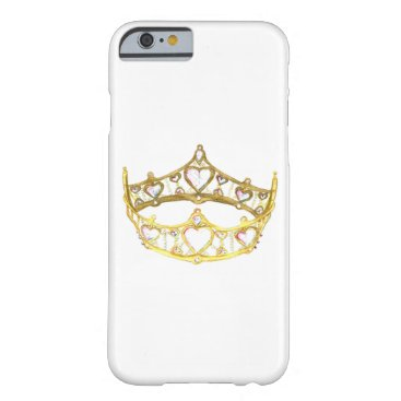 fabricatedframes Queen of Hearts crown tiara iPhone 6 case