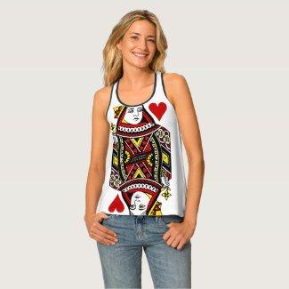 Queen of Hearts Design Shirt