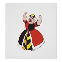 Queen of Hearts Disney Poster