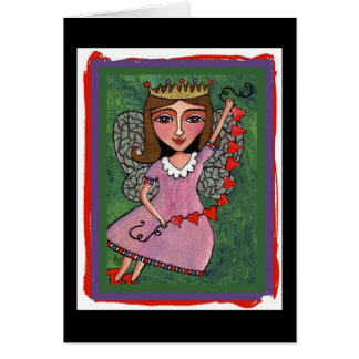 Queen of Hearts Fairy - all-occasion cards